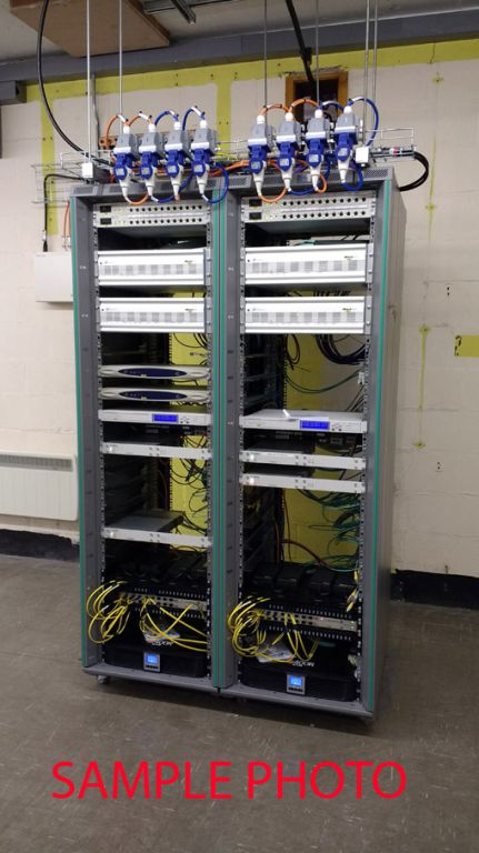 "Programme Input Equipment (PIE) P3.2 in 19"" rack c..."