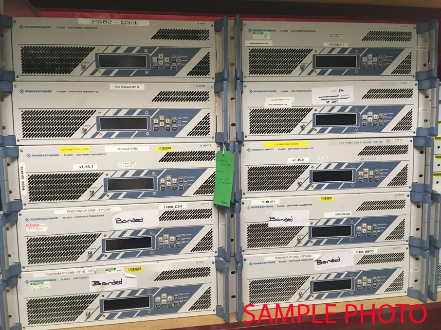 Rohde & Schwarz XLX8000 30W low power transposers,...