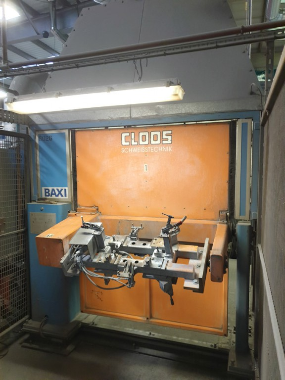 Cloos HWR-3DP-1200N-1250mm automatic welding stati...