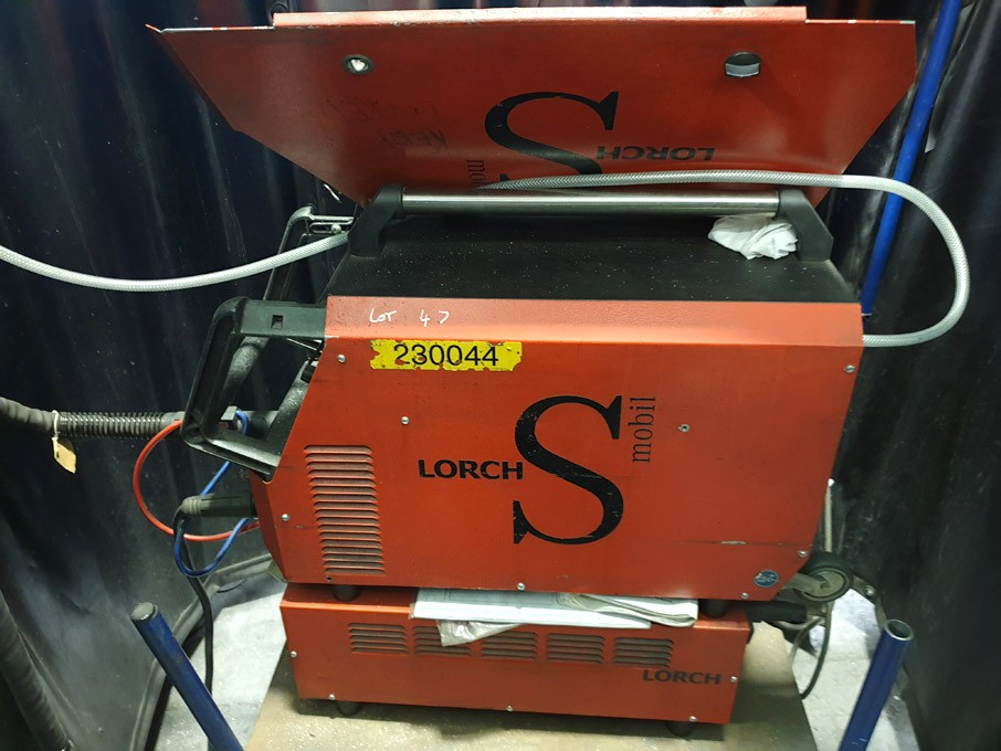 Lorch S3 speed pulse mig welder, 225A with water c...