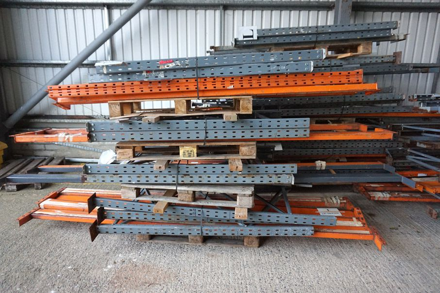 Qty various pallet racking, 900x3600mm bay size ap...