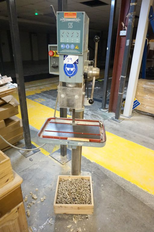 Strands (HM Machinery) S25 single spindle pillar d...