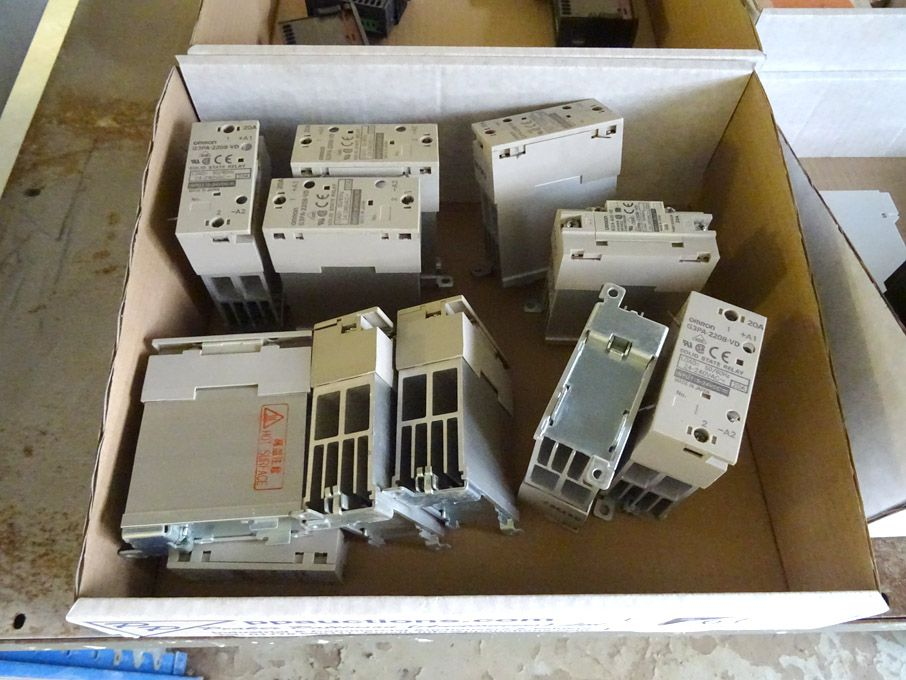 10x Ormrod G3PA-220B-VD solid state relays - Lot l...