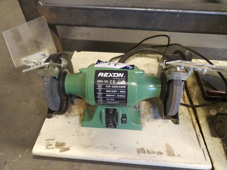 Rexon EBG-150 double ended grinder, 150mm dia whee...