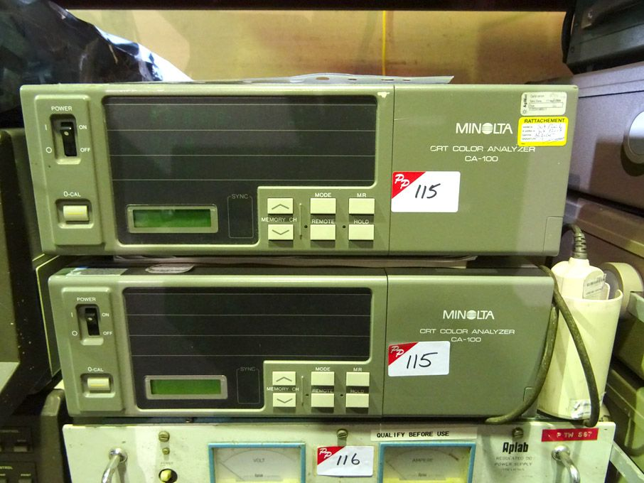 2x Minolta CA-100 CRT colour analysers - Lot Locat...