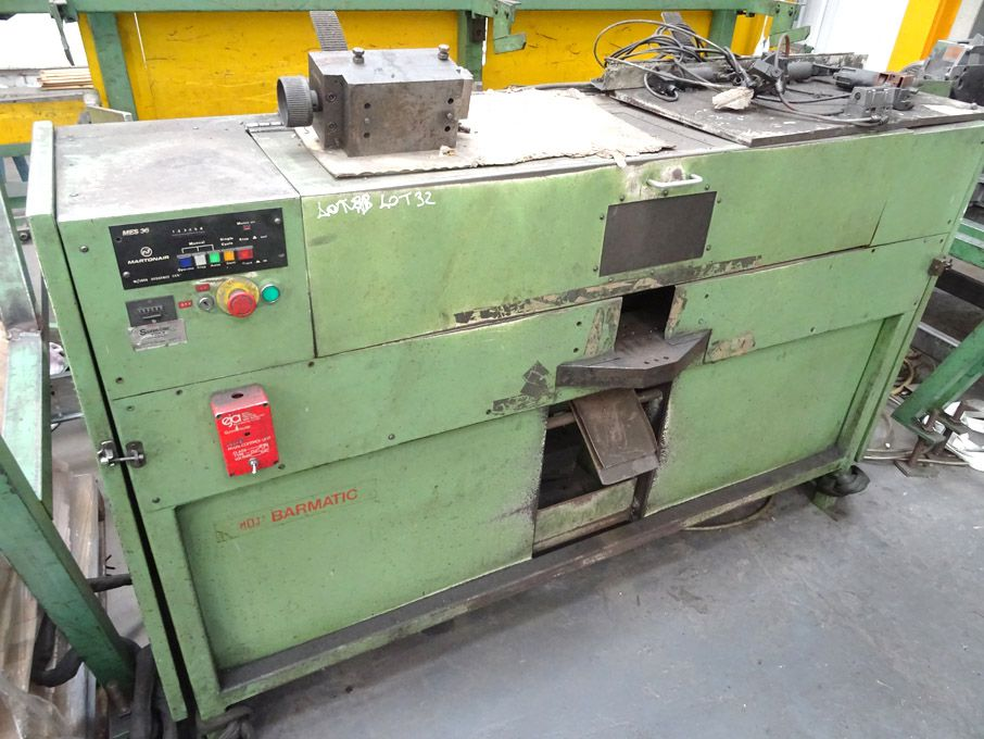 MOJ Barmatic bar ending machine, Martonair MES36 M...