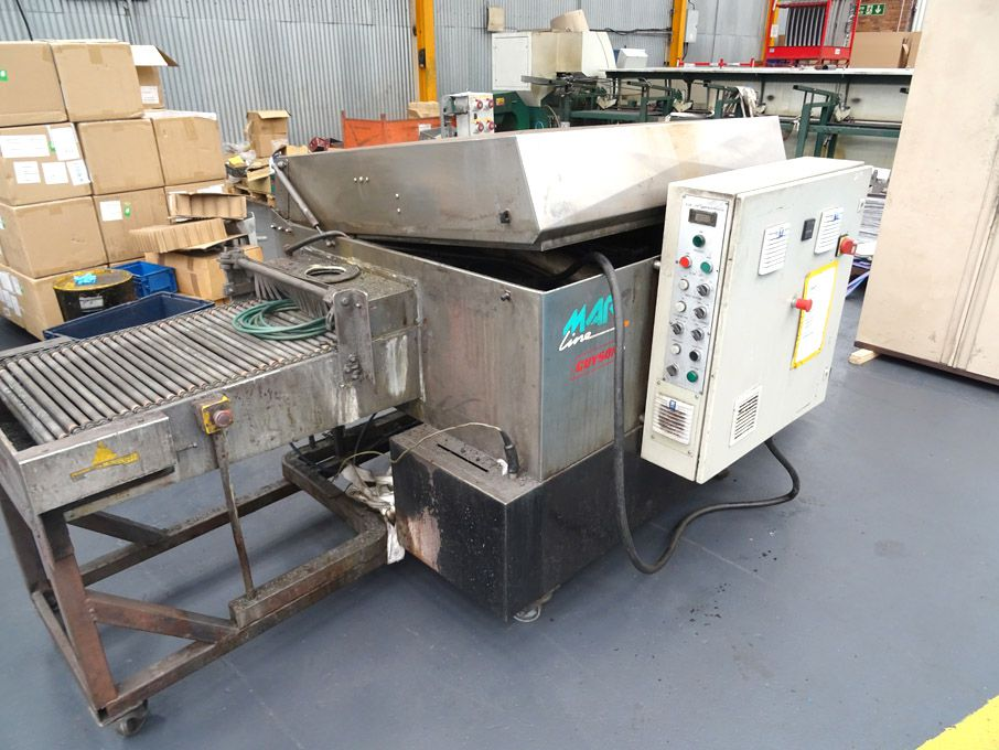 Guyson Marr Line stainless steel through feed wash...