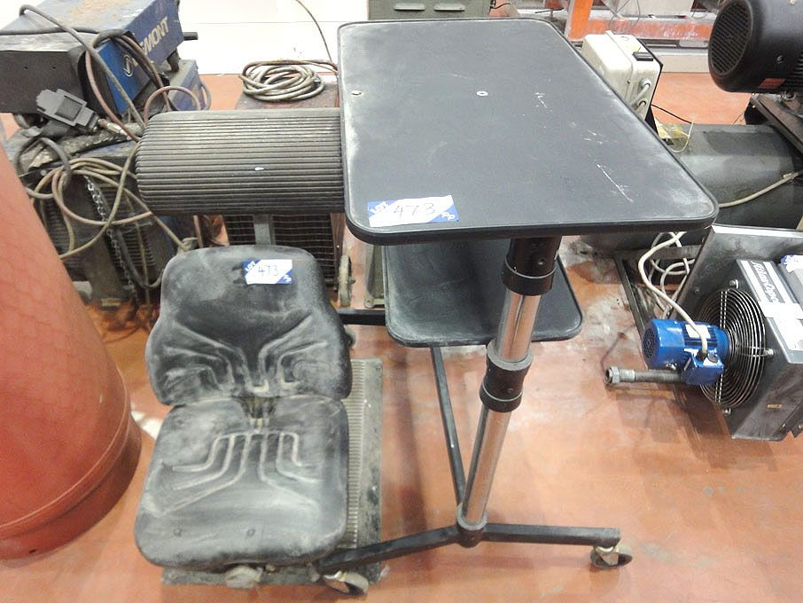 Grammer MSG44 vehicle seat, machinist working stoo...