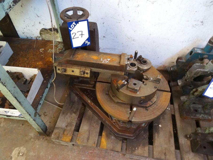 Basex BX490 tool drilling jig, 490mm dia indexing...
