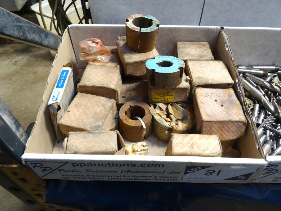 Qty various Fenner taper lock bushes (mainly boxed...