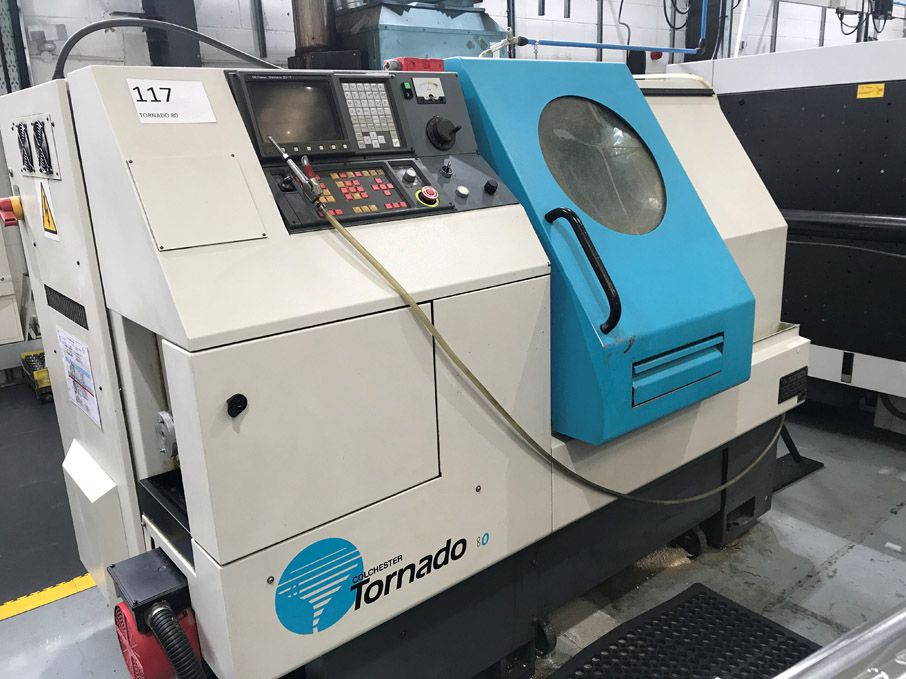 Colchester Tornado 80 CNC turning centre, 12 tool...