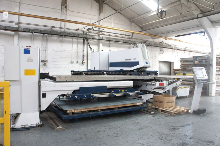 TRUMPF TruPunch 3000 S11 CNC punching machine with...
