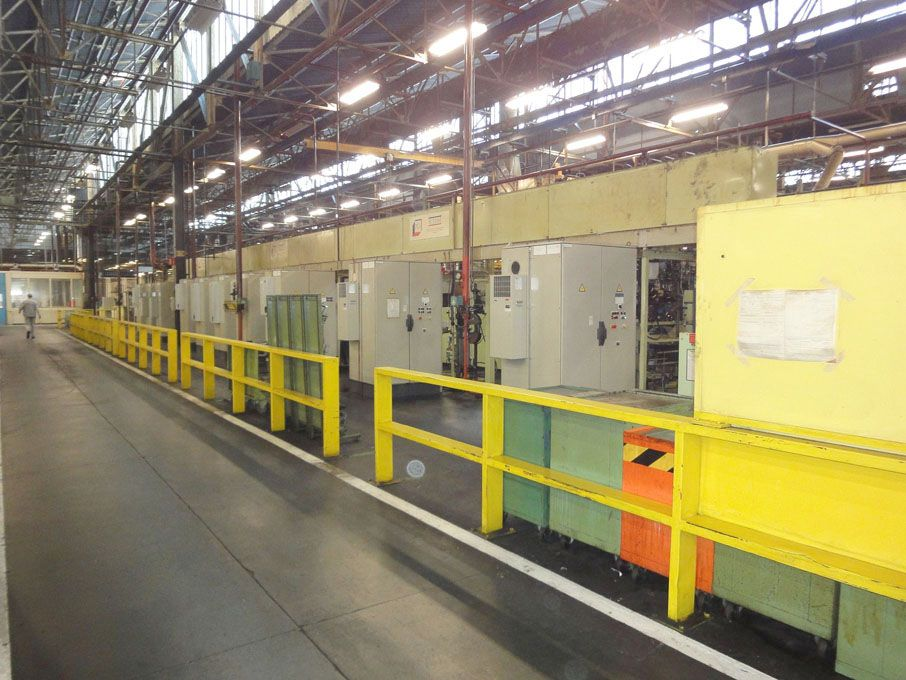 Front Stub Axle Machining Transfer Line Usinage Pi...