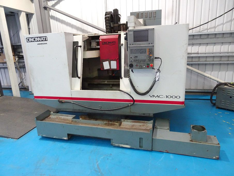 Cincinnati Arrow 1000 CNC vertical milling machine...